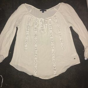American Eagle Blouse Off-White